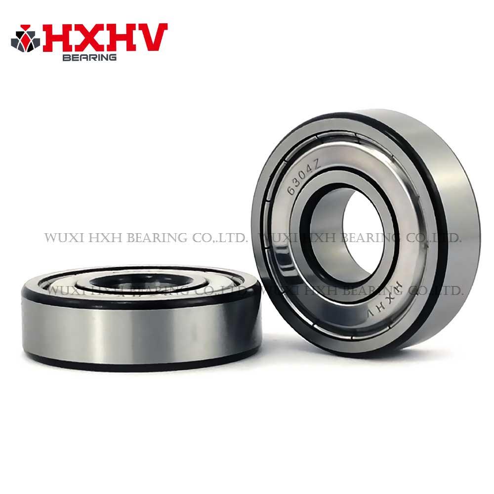HXHV chrome steel ball bearing 6304zz with black edge (1)