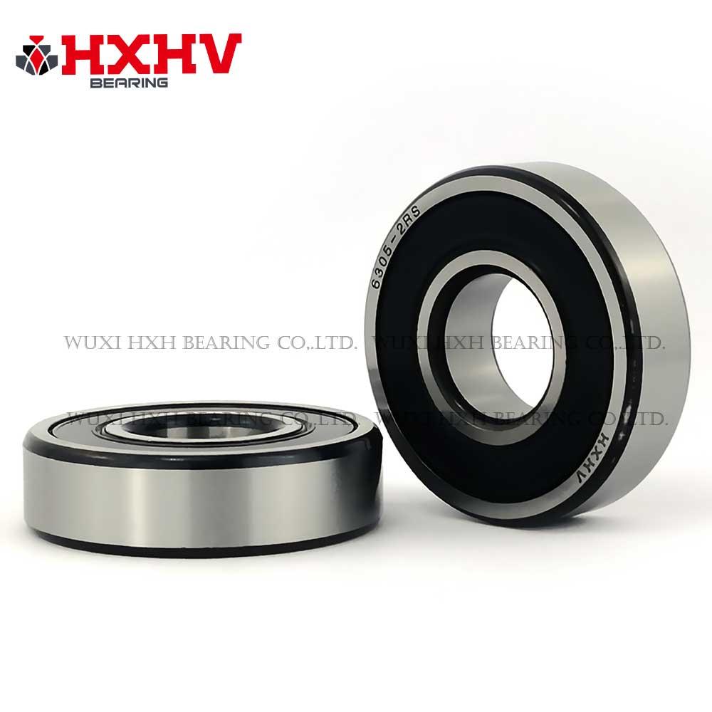 HXHV chrome steel ball bearing 6305-2RS with black edge (1)