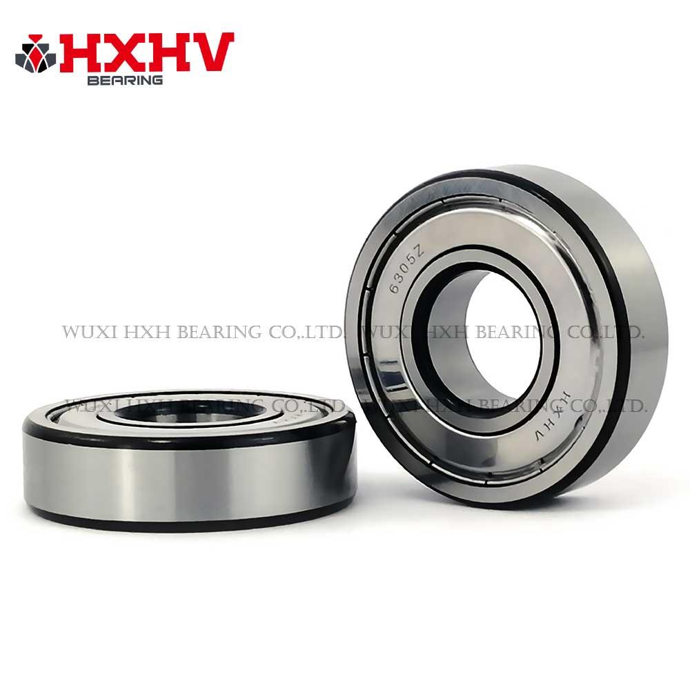 HXHV chrome steel ball bearing 6305zz with black edge (1)