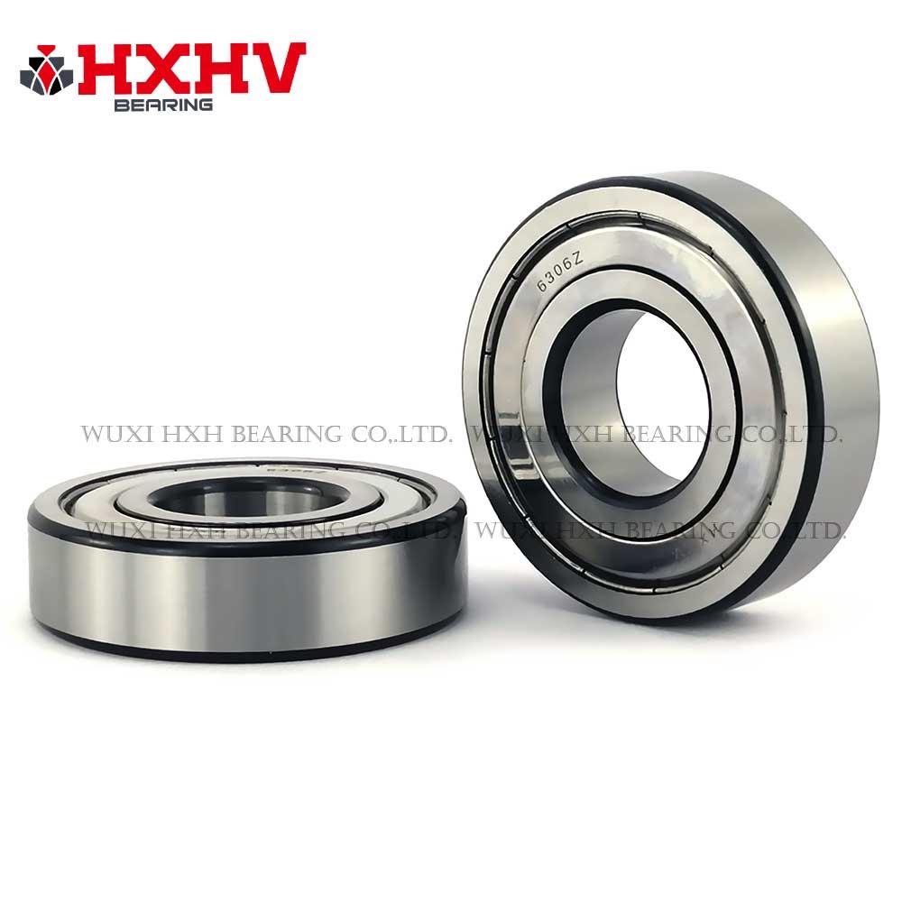 HXHV chrome steel ball bearing 6306zz with black edge (1)