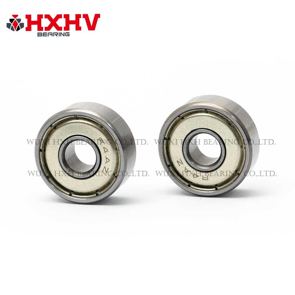 HXHV chrome steel ball bearing R4A zz with size 6.35x19.05x5.556 mm (2)