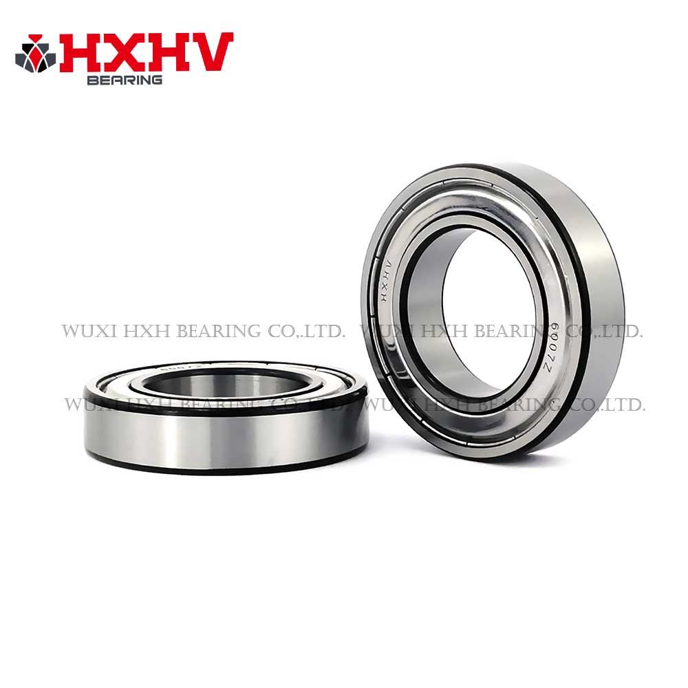 HXHV chrome steel bearing 6007zz with black edge (1)