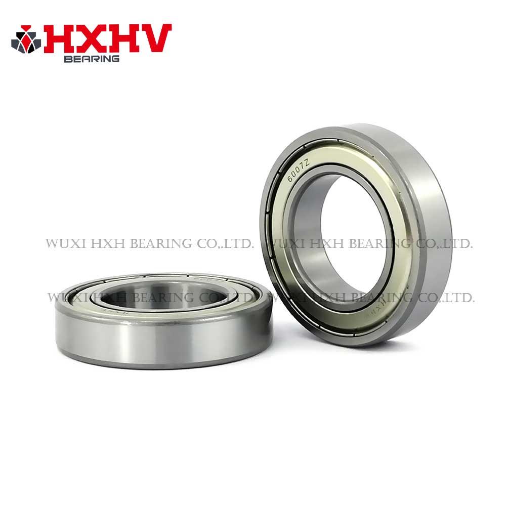 HXHV chrome steel bearing 6007zz with size 35x62x14 mm (1)