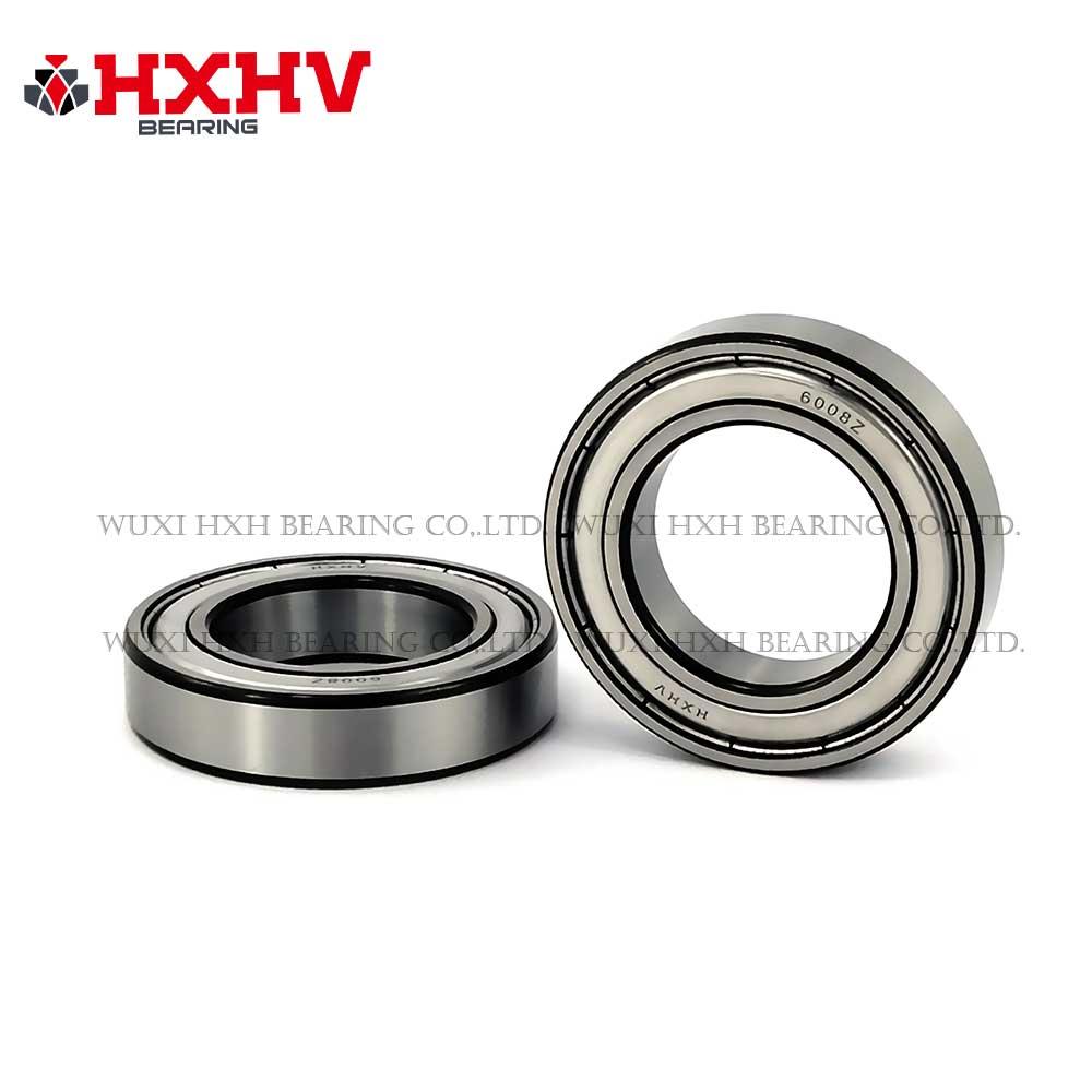 HXHV chrome steel bearing 6008zz with black edge (1)