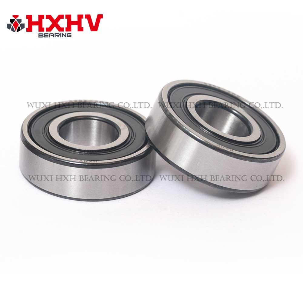 HXHV chrome steel bearing 6202-2RS with black edge