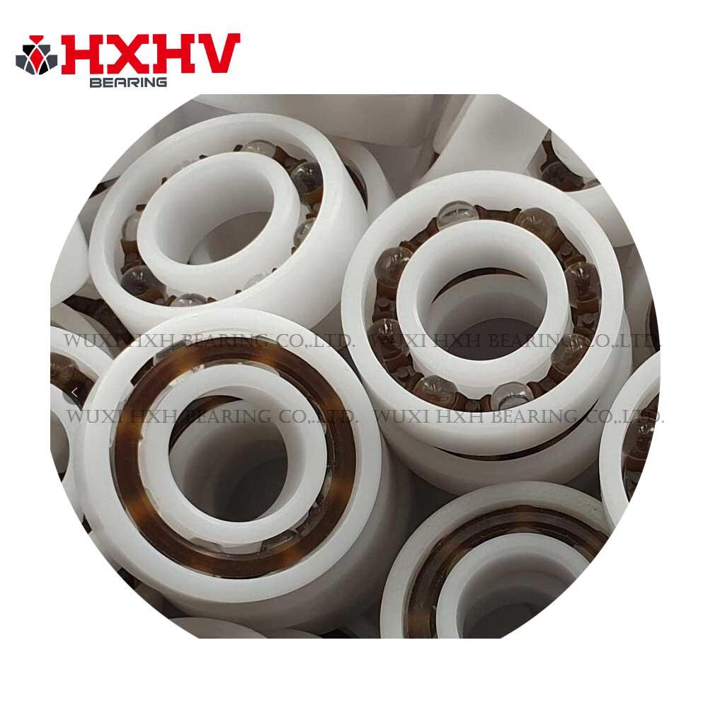 HXHV plastic ball bearing POM 6001 with size 12x28x8 mm & glass balls