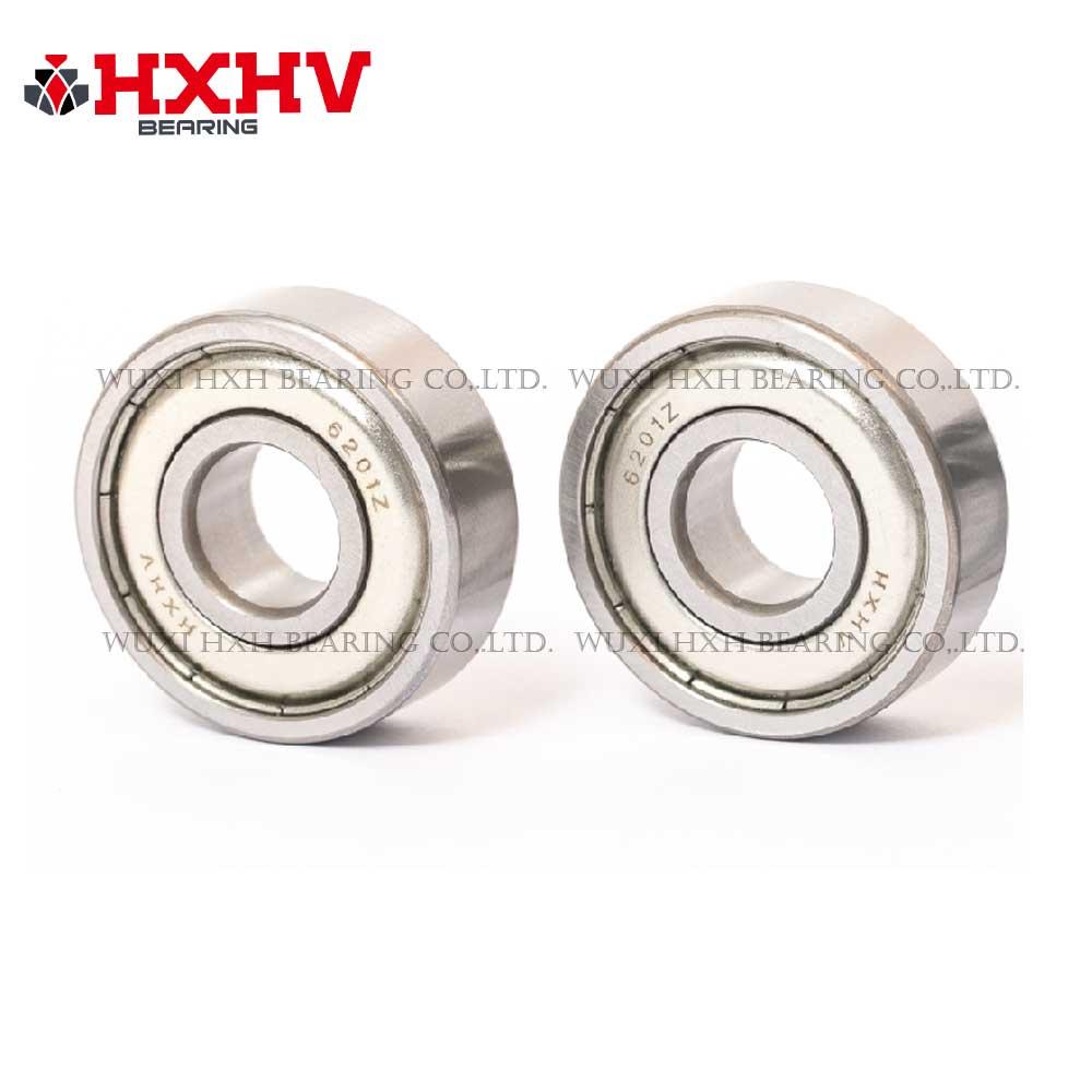 HXHV chrome steel ball bearing 6201-zz with size 12x32x10 mm