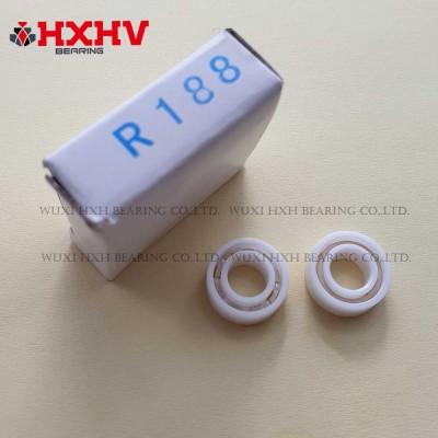 R188 with PEEK retainer and full white ceramic ZrO2 material 9 balls