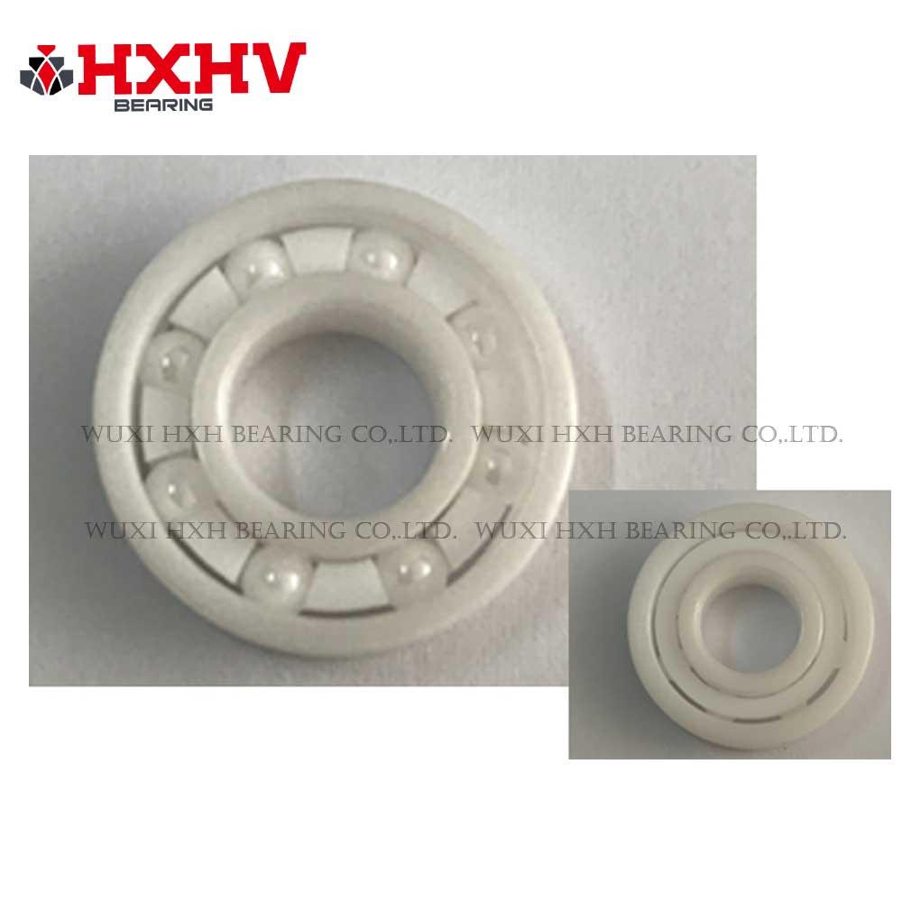 R188 with full ceramic zro2 & 8 balls & PTFE retainer - HXHV Bearing