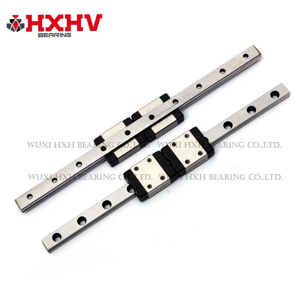 THK Linear Motion Guidways block & rail M7-150L (2)