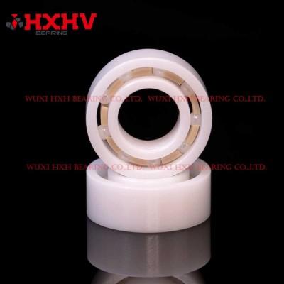 HXHV full ceramic ball bearings R188 with 9 ZrO2 balls ZrO2 rings and PEEK retainer