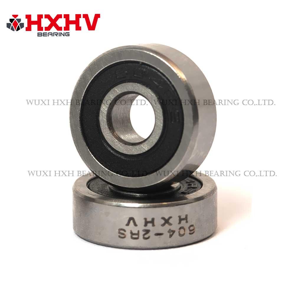 604-2RS 4x12x4 mm - HXHV Deep groove ball bearing (1)